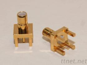 連接器 - SMB 母頭公針 for PCB Mount