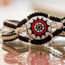 絲思入釦◆手工編織雙線手環(32款)