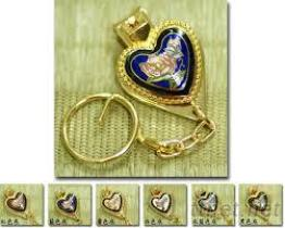 心型指甲剪鑰匙圈