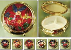 圓形珠寶盒