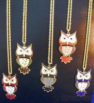 貓頭鷹造型項鍊