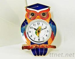 景泰蓝造型鬧钟