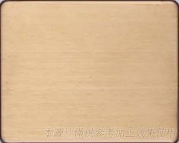 研磨表面處理-毛絲古銅色