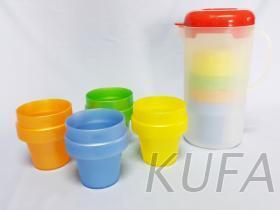 冷水壶叠杯组