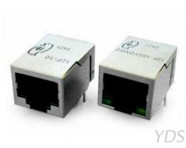 12F / 14F-1X 单埠 10 Base-T RJ45变压器模块