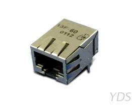 13F-6X 单埠 10 / 100 Base-T RJ45变压器模块