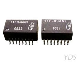 11FB 10/100 Base-T 單埠網路濾波器