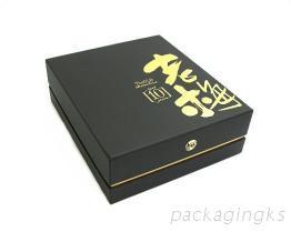 保健食品礼盒(三套式天地盖盒)