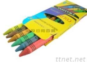 六色蜡笔, 蜡笔