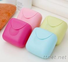 密封便攜肥皂盒, 糖果旅行香皂盒(小)