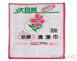 #3024 大自然抗菌清潔巾(4枚入)