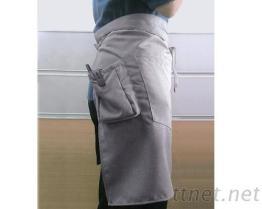 #9218 半身立袋+雙口圍裙