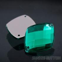 流行飾品配件菱形龜面手縫壓克力水晶鑽石
