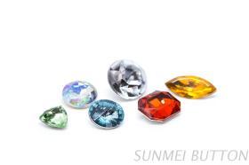 壓克力水鑽批發,豐富形狀顏色的塑膠鑽石