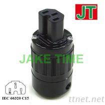 IEC 60320 C15 音響級電源插座