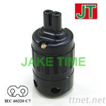 IEC 60320 C7 音響級電源插座