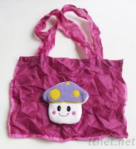 毛絨玩偶公仔折疊購物袋