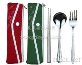三用組野餐袋環保餐具
