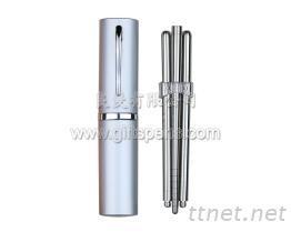 优雅不锈钢环保筷