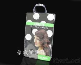 PVC袋, PVC高週波袋, 化妝品包, 塑膠手提袋