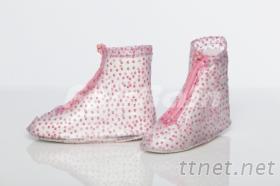 花漾時尚平底防雨鞋套