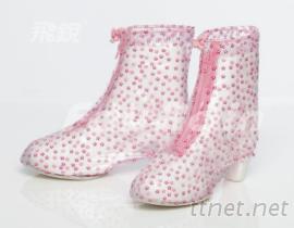 花漾時尚高跟鞋專用防雨鞋套