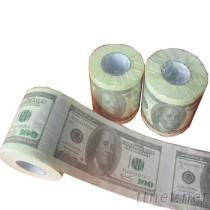 印花衛生紙, 美元卷紙, 美金捲筒紙, 彩色圈圈紙