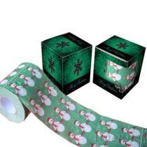 聖誕節印花衛生紙, 印刷卷紙, 美金捲筒紙, 彩色圈圈紙