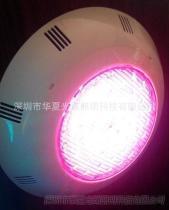 水下燈具LED掛壁式泳池燈 七彩變色泳池燈 水景燈 水下燈 水底燈