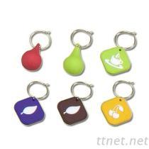 橡膠鑰匙圈