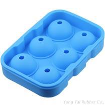 6顆球型矽膠製冰盒