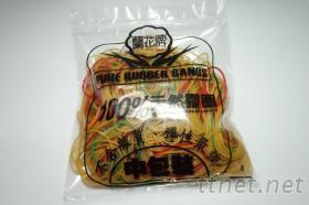 100公克橡皮筋+塑料袋包裝