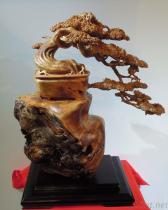 本固枝榮-木雕藝品