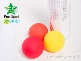 《Fun Sport》舒肌樂激痛點(Tigger point)按摩球(3硬度組合)