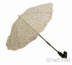 嬰兒車夾傘