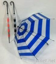 條紋輕便環保傘