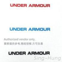 UNDER ARMOUR 單色熱轉印刷