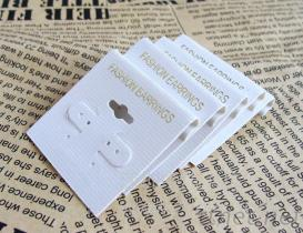 供應PVC耳環卡片, 深圳飾品卡片廠家, PVC首飾背勾卡片製造