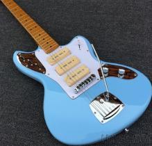 Jazzmaster豪華藍色捷豹電吉他S-S-S拾音器