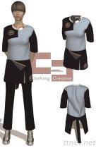 「制服訂制」工作服 《男女套裝類》《餐飲服類》《醫療服類》《工作休閒服類》