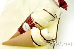 MIT霜淇淋造型毛巾