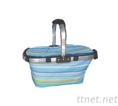 摺疊野餐籃