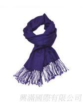 高貴紫色羊毛巾
