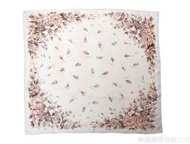 缤纷玫瑰丝巾