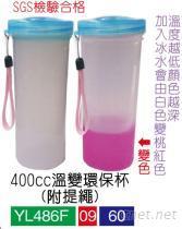 杯子, 400CC溫變環保杯