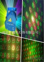 爆款!正品保证激光舞台灯 炫彩金贝壳水晶魔球灯 进口LED激光灯