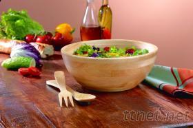 木沙拉碗組