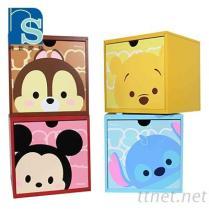 木箱 積木盒 旋轉收納盒