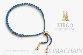 VIRGO 925纯银宝石手链