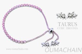 TAURUS 925純銀寶石手鍊